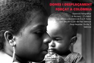 Exposició Dones i desplaçament forçat a Colòmbia